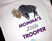 Personalized Infant Onesie NY State Trooper Little Trooper Baby Sweet