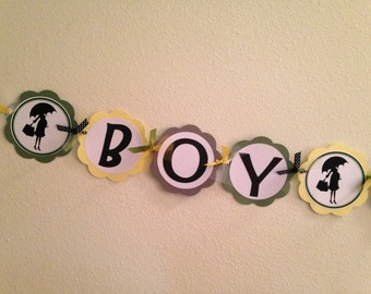 Boy Or Girl Gender Neutral with Mod Mom Banner ~ You Choose COLORS~