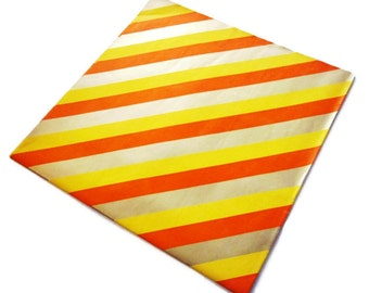 Vintage Wrapping Paper - Citrus Sass Gift Wrap - Full Sheet