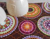 Brown Dish Mat / Kitchen Drying Towel / Dish Drying Mat /  Great Gift