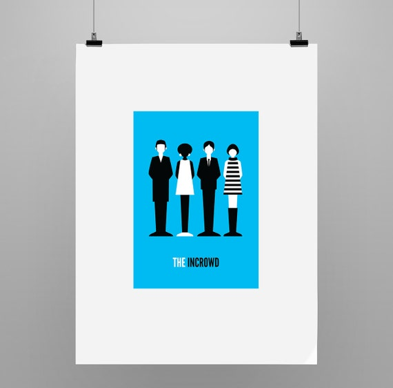 The Incrowd - Graphic Illustration Print