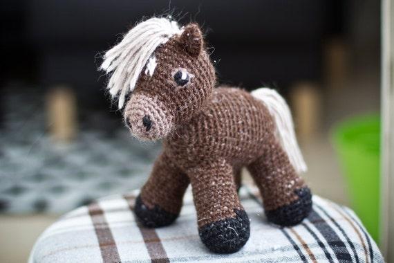 Sally the amigurumi pony PATTERN / Horse Pattern ...