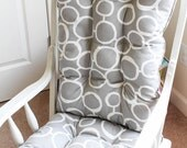 Custom Chair Cushions/ Glider Cushions/ Rocking Chair Cushions/ Glider Replacment Cushions- SQUARED TOP