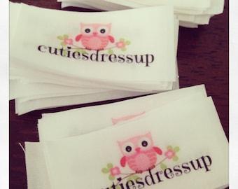 25 medium/small custom labels