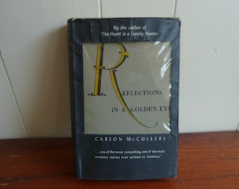 Use CODE50 for 50% OFF VERY RARE Carson McCullers - Reflections in a Golden Eye - First Edition Hardcover