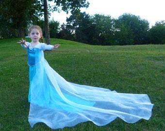 elsa costume queen elsa pretend play dress up elsa dress elsa - Halloween Costumes Of Elsa