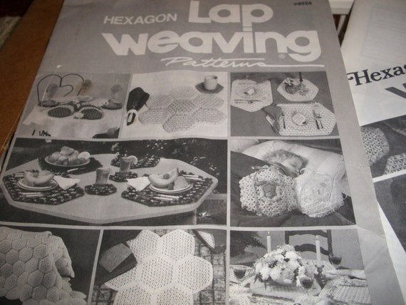 hexagon lap weaving loom instructions