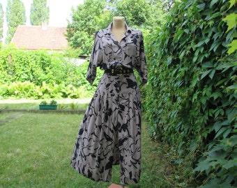 Pretty Dress Vintage / Long / Size EUR 42 / UK14