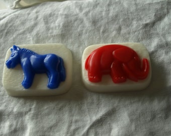 Elephant and Donkey Political soap