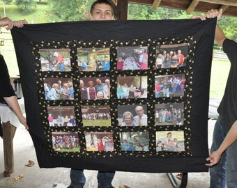 Memories Quilt made with your pics
