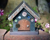 Fairy House Door Opens- Pixie Elf Hobbit Gnome Toad House