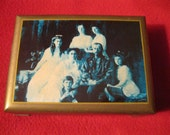 Russian Tsar Nicholas II of Russia & his Imperial family  Wooden hinged box.  I'm shipping from the US - worldwide.