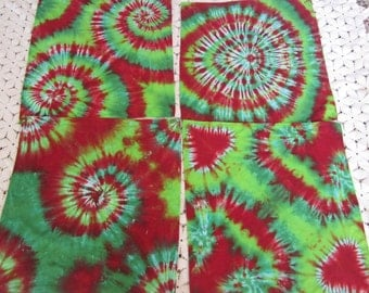 """Tie dye bandanas, """"Christmas is spiraling out of Control""""- Choose from 3 different designs- 250"""