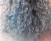 Mohair Blue, Doll Hair