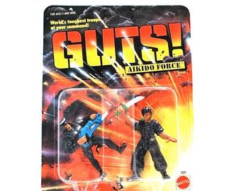 GUTS Aikido Force Tsunami & Dark Dragon MOC 1986