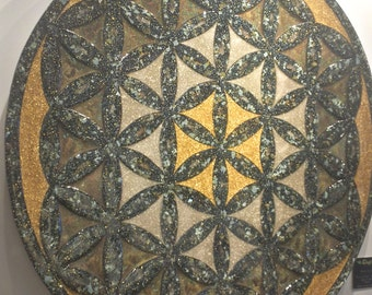 """48"""" Orgone Flower of Life by Orgonix 23"""