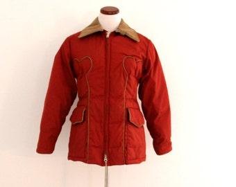 1970's Gerry Down Coat Winter Western Jacket Ladies Medium