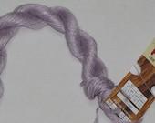 Lavender Flax Yarn, Fibranatura Flax Yarn Color #07 Lilac Lot #6278
