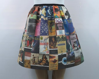 Classic book covers skirt - made to order