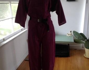 Kansas Yamamoto International Jumpsuit Bowie Medium Zippers Unisex