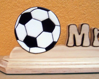 Soccer Coach Nameplate