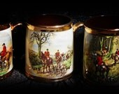 Vintage Fox Hunt Mugs