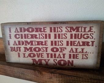 My Son Amazon Quote Block