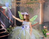 Fairy dress, Sugarplum fairy dress, tutu, holiday dress, Christmas dress, birthday, photography