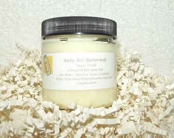 Sweet Baby Sugar Scrubs-Baby Bee Buttermilk, Powder Fresh...You Choose Fragrance