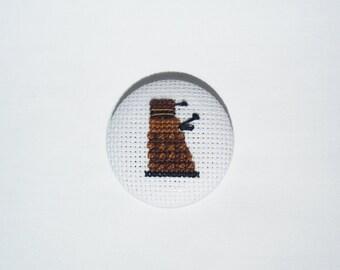 Doctor Who pinback button - Dalek