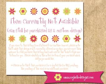 Custom Invitation Order (via Pinterest or other source) (TT Ticket)