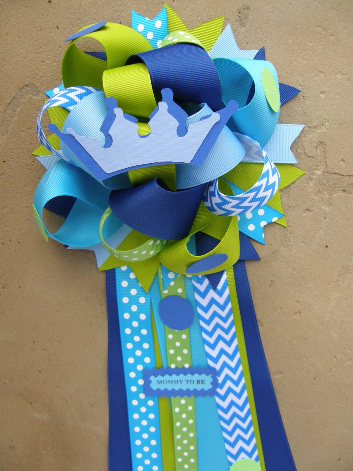 prince baby shower mum baby shower by bonbow on etsy