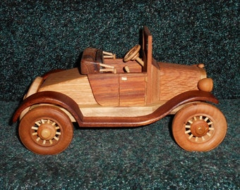 Wooden 1929 Ford Model T handcrafted by