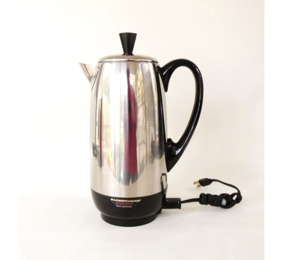 How To Use Non Electric Coffee Maker : Farberware Superfast Electric Coffee Percolator by LaurasLastDitch