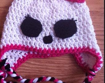 Monster High Crochet Hat