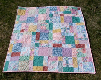 Mother's Day Spring Lap Quilt