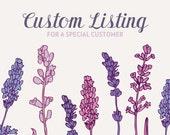 Custom Listing for MSG