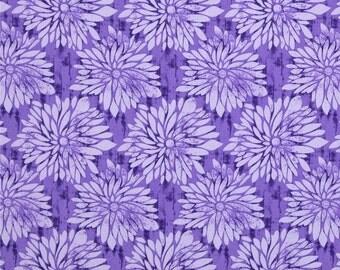 90315 - Ty Pennington Impressions Home Dec SATY001   Dahlia in purple color - 1 yard