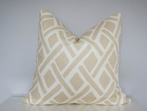 Modern Geometric Pillows : Sale Brown Modern Geometric Pillow Decorative Pillows Home