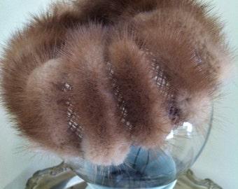 Little fur hat, fur hat, vintage hat, vintage fur hat