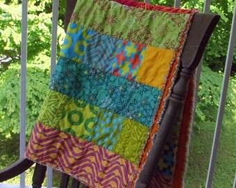Summer Patchwork Quilt