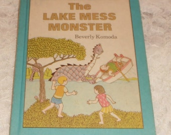 The Lake Mess Monster by Beverly Komoda Parents Press HB Book 1980