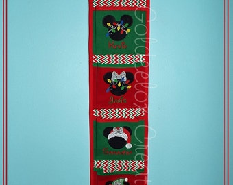 Christmas Theme Fish Extenders for Disney Cruises Custom Orders Only