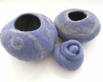 Horizon Merino Wool Roving, Wool Roving, Felting Wool, Roving, Needle Felting Wool, Merino Roving, wet felting wool, nuno felting wool