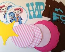 DIY Sheriff Callie Birthday Banner Kit