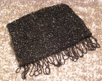 Antique Victorian Beaded Purse Remnant