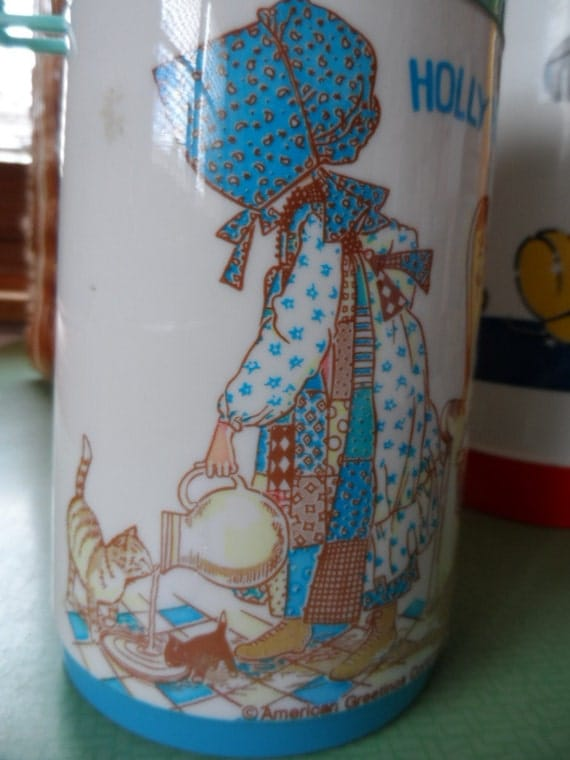 Holly Hobbie Hobby Aladdin  Drink Flask