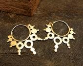 Raja Brass Earrings