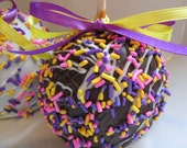 Easter Caramel Chocolate Apples -4