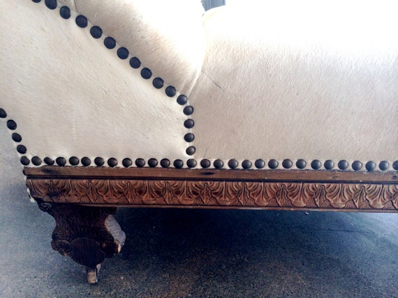 Circa Late 1800 S Vintage Psychiatrist S Couch Lounge